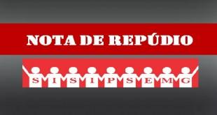 Banner repúdio