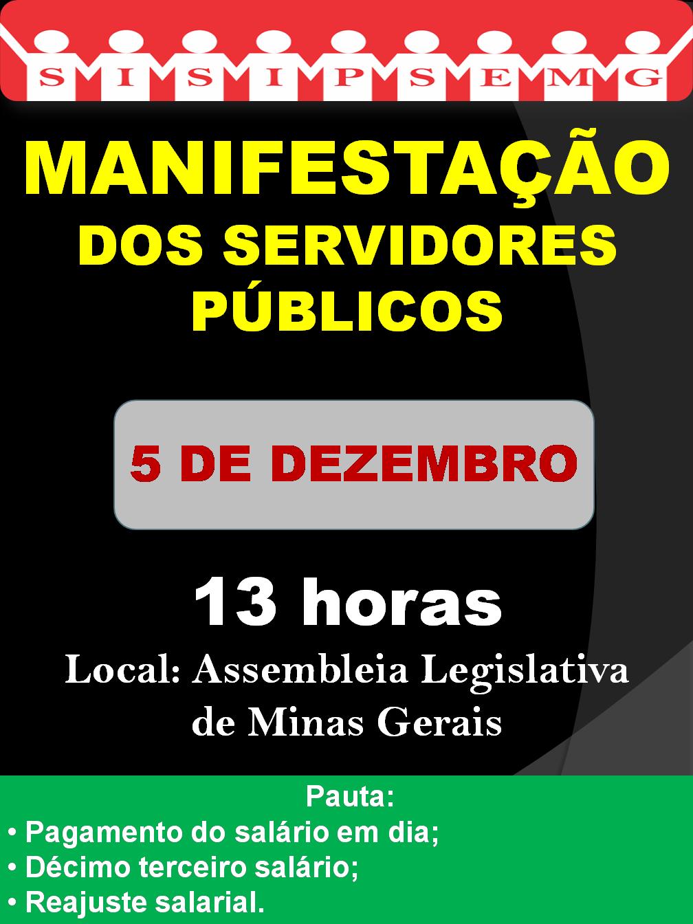 Cartaz Manifestação 0512